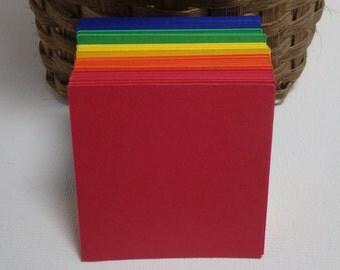 Square Die Cuts, You Choose Color, 30 Piece set, Choose Size 1, 1.5, 2, 2.5, 3, 3.5, 4 inch - VTC-0142