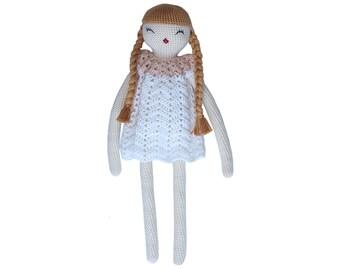Melosina crochet pattern DOLL LILI - amigurumi