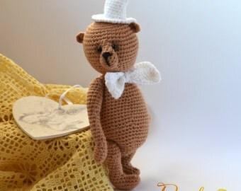 Bear bear, Amigurumi, crochet, gift idea