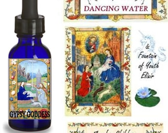 GNOSTIC CHRIST Fountain of YOUTH Elixir by Gypsy Goddess