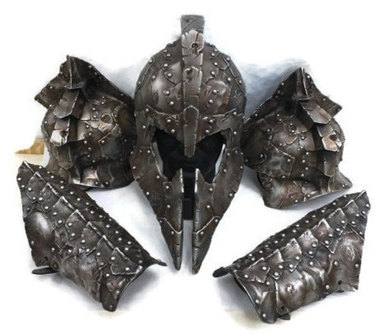 Larp Armor Xaphen demon armour set, cuirass, SCA, LRP, Theatrical