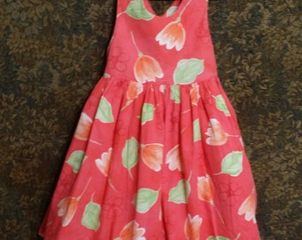 Little girl vintage,1980's tulip dress is just too cute . . . !!