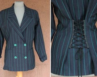 1980's Astuces Paris Avant-Garde Blazer - 80's Avant-Garde Jacket - Size M / L