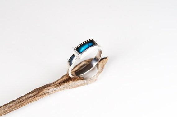 mineralrare Labradorite Engagement Ring Labradorite Promise Ring
