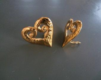 Yves saint Laurent - YSL - ears/clips vintage earrings