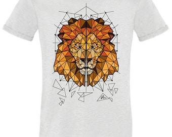 Tshirt Men S digital printing lion