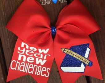 New year school bow