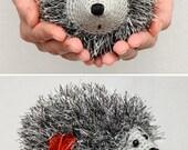 Crochet Hedgehog Plush Toy Gift for her for kids Stuff Crochet toy Amigurumi Stuffed Animal Kids toys Gift idea Plushie kids baby kids doll
