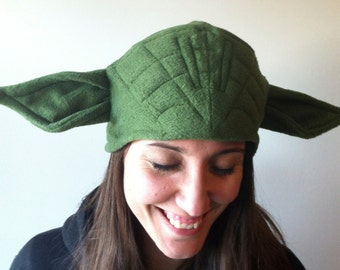 Master Yoda-inspired fleece hat