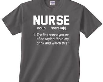 12 Days of Nursing funny t shirt tshirt tee clothing male or