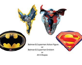 Batman vs Superman Balloon Set