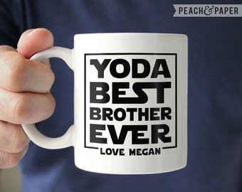 Personalized Brother Gift For Brother From Sister Best Brother Mug For Brother Coffee Mug Brother Christmas Gift For Brother Birthday Gift