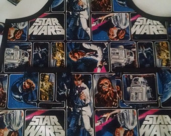 Boys Star Wars Apron with Pockets Birthday Gift for Kids Childrens Apron
