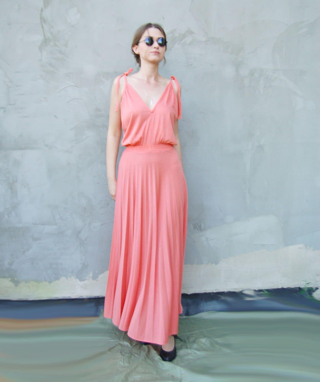Wonderful Salmon Prom Dress Images - Wedding Ideas - memiocall.com