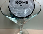 JAMES BOMB 007,Men's Bath Bomb, Gift for Him, Theme Party, Party Favor, Birthday For Him