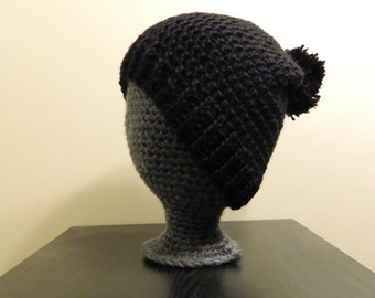 Brimmed Slouchy Beanie