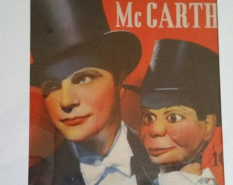A Day in the Life of Charlie McCarthy Framed Book