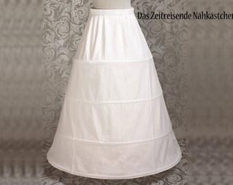 Spanish Farthingale, Hoop Skirt, Renaissance Skirt