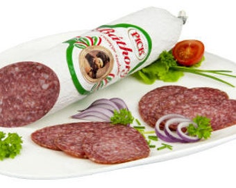 "Hungarian Pick Szalami Salami  ""Báthory Style"" Authentic Imported (MILD / CSEMEGE)"