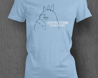 Studio Ghibli Logo T-shirt WOMEN'S FIT