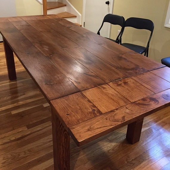 Extendable Model Farmhouse Kitchen Table Knotty Pine by  : il570xN913809632hdcc from etsy.com size 570 x 570 jpeg 78kB