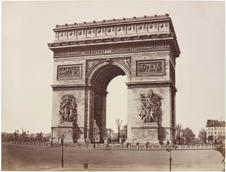 Paris decor arc de triomphe art print french decor paris for Arc decoration arques
