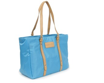 Waterproof Casual Tote Bag (Sky Blue)