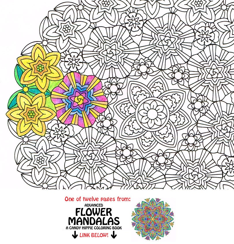 Mandala Coloring Page Inner Light Printable Coloring Page