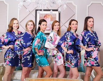 Satin Bridesmaid bathrobes women robes  cotton chenille robe toweling bathrobes shrort dressing gowns ladues towel bathrobes teen bathrobes