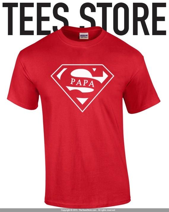 papa t shirt super papa shirt gift for dad papa gift. Black Bedroom Furniture Sets. Home Design Ideas