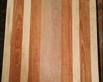 22x24 Maple, Cherry, Custom Cutting Board