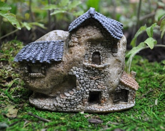 Two-Story Fairy House