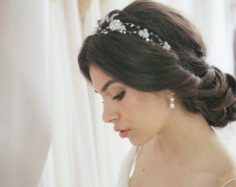 Wedding Hair Vine, Bridal Head Piece, Bridal Hair Wreath
