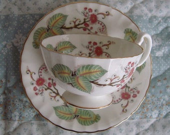 Aynsley - Bone China England - Vintage Tea Cup and Saucer