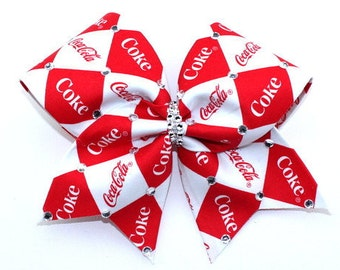 Coke Cheer Bow