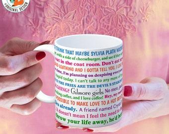 Coffee Mug Gilmore Girls Funny Quotes Coffee Cup