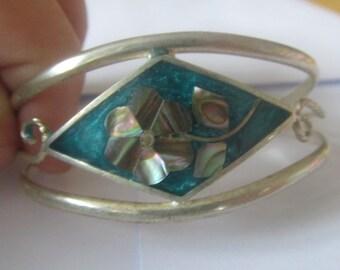 Vintage Abalone Bracelets, abalone bracelet, sea shell bracelet, adjustable bracelet, handmade bracelet, boho bracelet, beach bracelet