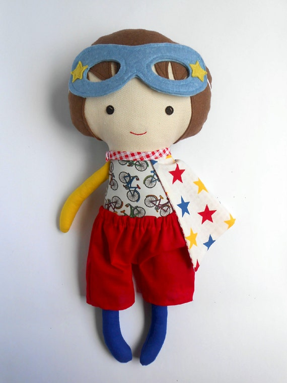 Super Hero Toys For Boys : Superhero cloth doll rag dolls for boys toddler by