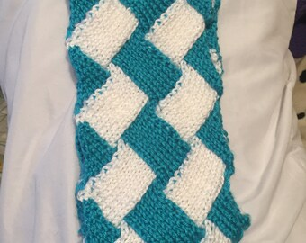 Icicle Entrelac Scarf