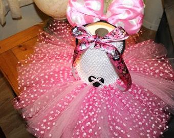 Minnie Mouse TuTu Dress, Pink Dress,Princess,Cute,Christmas, Infant Dress, Homemade,Photo Prop,Birthday,Toddler,Girl Tutu,Cheap Tutu