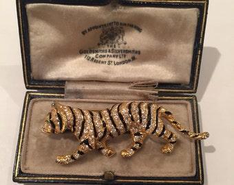 Vintage Leopard brooch, rare item