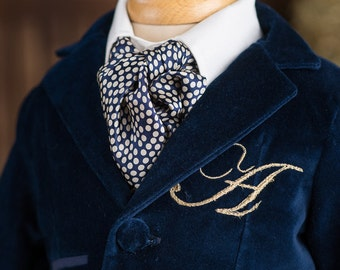 Navy Blue Jacket Alexander, Jacket for boys, Birthday jacket for boys, Embroidered jacket for boys, Ring Bearer Blazer