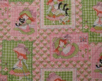 Vintage Cute and Girly twin bedspread