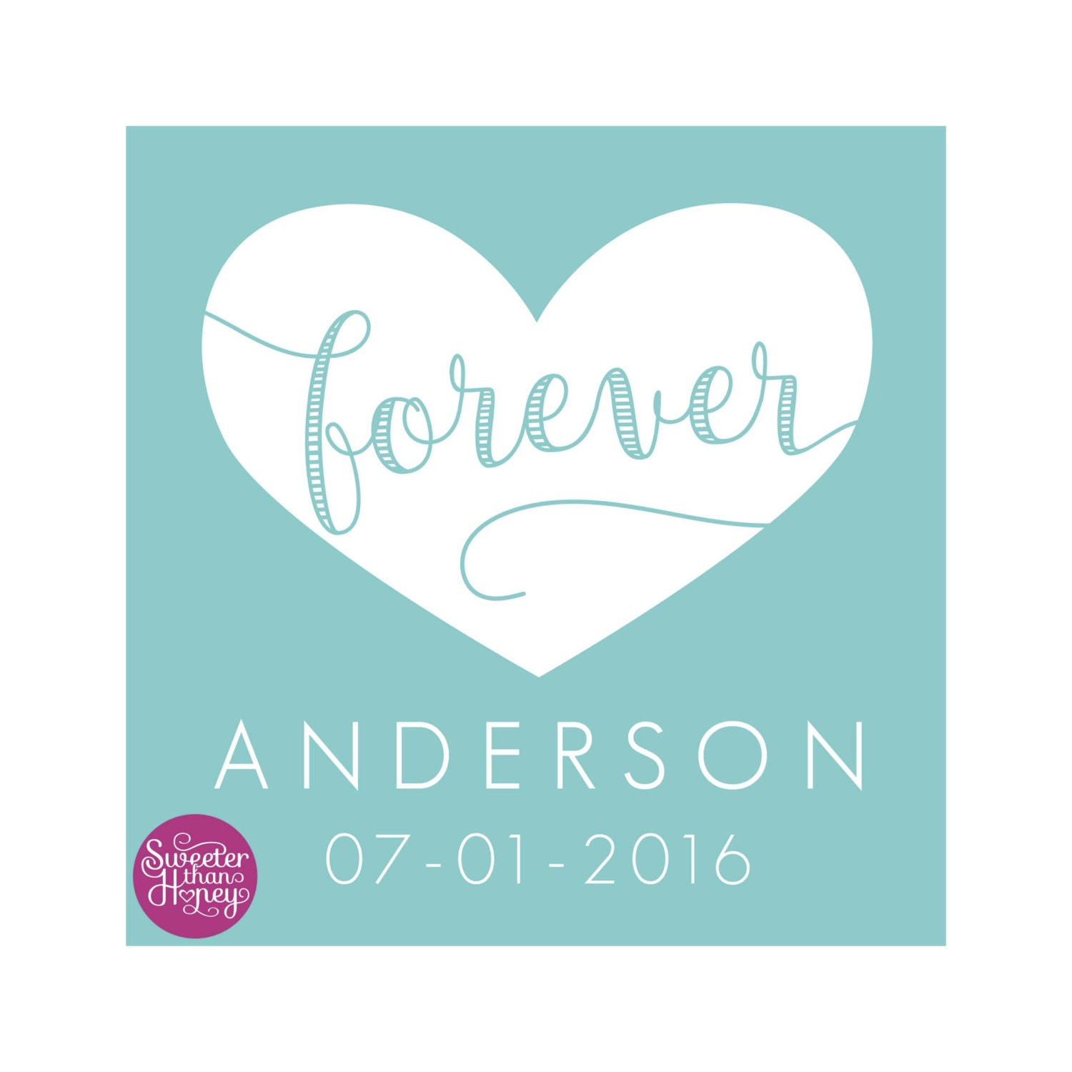 Custom Wedding Gift Personalized Art Print Wedding Gift