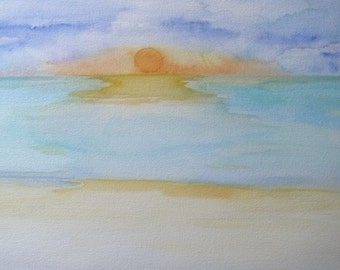 Faded Memory, water color painting