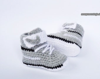 Crochet baby shoes Etsy