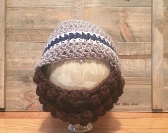Crochet beard hat, Beard Hat, Baby Beard Hat, Adult Beard Hat, Men's Beard Hat, Baby Boy Hat, Boy's Hat, Crochet Beard Beanie,