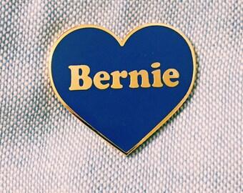 Bernie Sanders Heart Pin