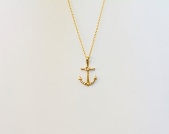 Women's Anchor Pendant/Necklace - Keep you grounded and secure