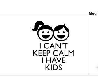 Children mug keep calm mug